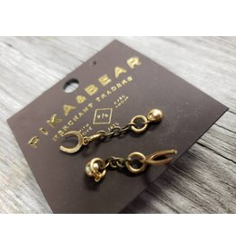 PIKA & BEAR HORSE SHOE EARRINGS