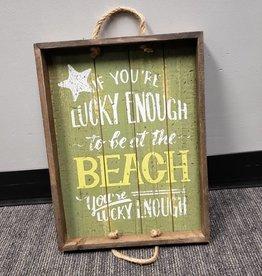 SPLASH BEACH MESSAGE TRAY