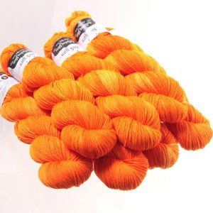 Hedgehog Fibres Hedgehog Sock Oranges/Yellows