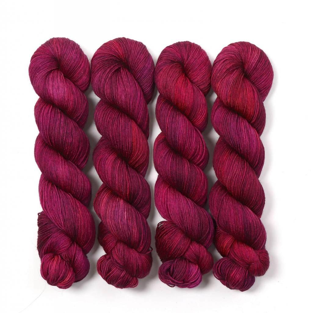 Hedgehog Hedgehog Merino DK Reds/Oranges/Purples