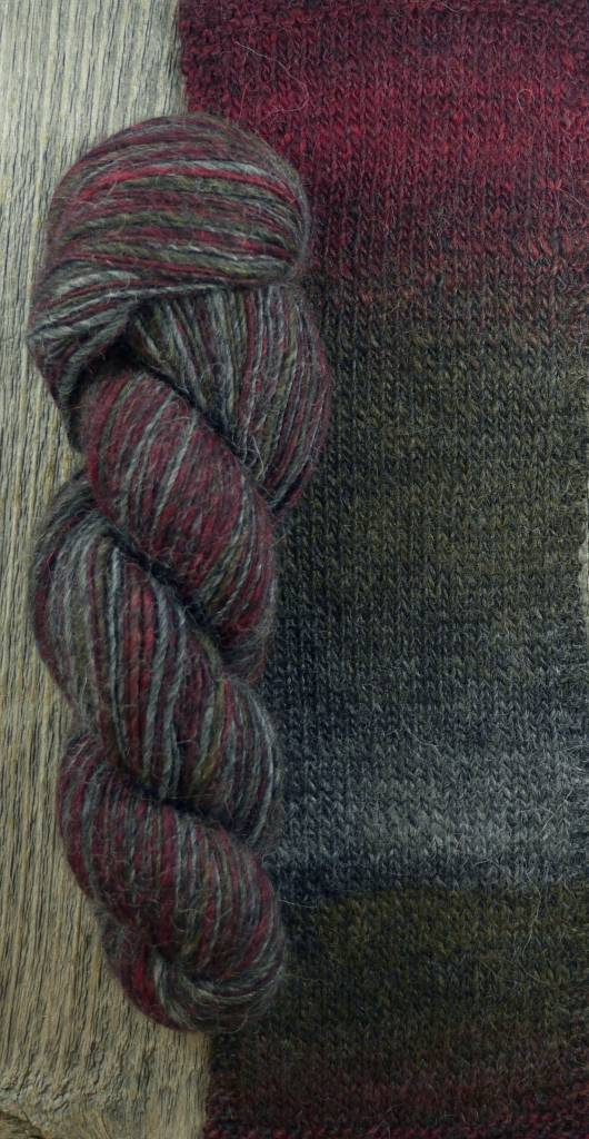 SugarBush Motley Dk Blues/Reds/Purples
