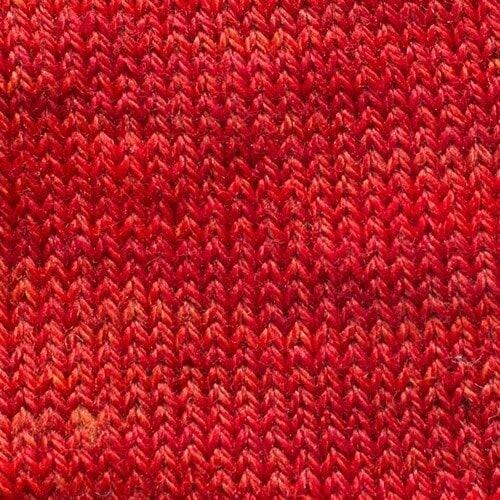 Sweet Georgia Tough Love Sock Reds/Oranges/Purples