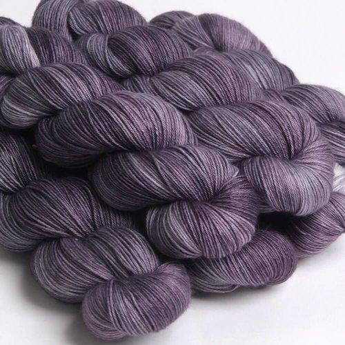 Hedgehog Fibres Hedgehog Sock Natural/Greys  -