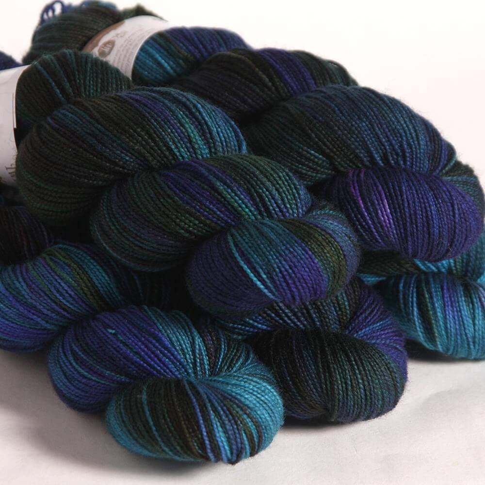 Hedgehog Hedgehog Sock Blues/Purples -