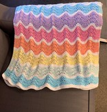 Juniper Moon Farms Feather and Fan Rainbow Baby Blanket Kit