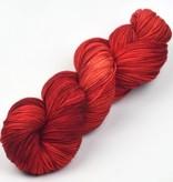 Meadowcroft Dyeworks Rockshelter Sock Red/Orange/Yellows -