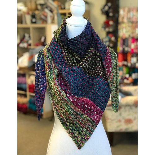 Nightshift Shawl Kit