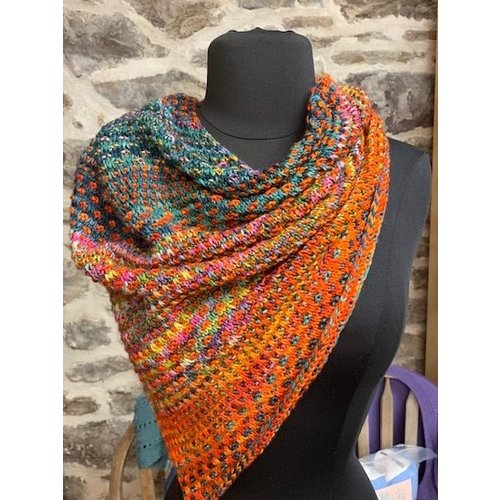 Purls of Wisdom The Shift  Cowl Kit