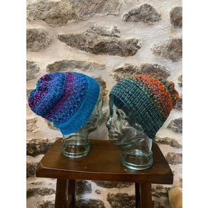 Purls of Wisdom Shift Hat Kit