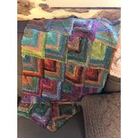 Mitered Square Blanket Kit