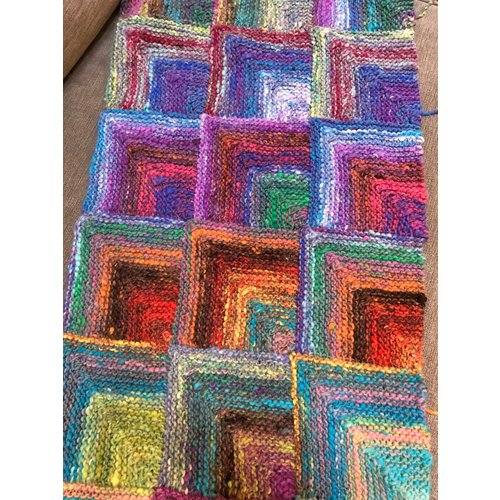 Mitered Square Blanket Kit