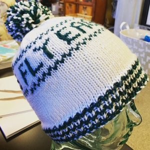 Purls of Wisdom Fly Eagles Fly Hat Kit