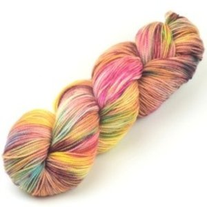 Meadowcroft Dyeworks Rockshelter Sock Oranges/Yellows