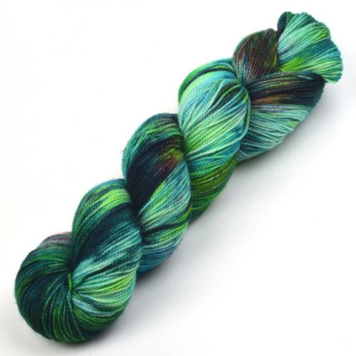 Meadowcroft Dyeworks Rockshelter Sock Greens