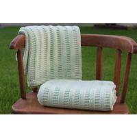 Garter Rib Baby Blanket Kit