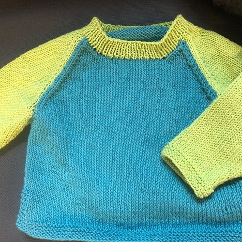 Purls of Wisdom Ethan's Sweater Kit