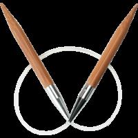 """ChiaoGoo 9"""" Bamboo Circular"""