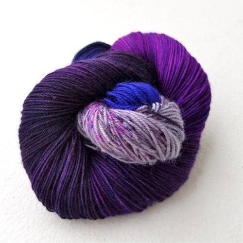 Three Irish Girls Springvale Sock Purples/Pinks/Reds