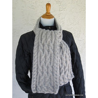 Celtic Cable Scarf Kit