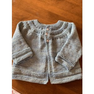 Purls of Wisdom In Threes Sweater