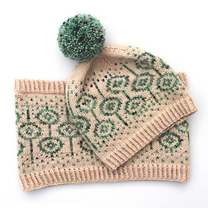 Ambah O'Brien Lorah Hat & Cowl Pamphlet