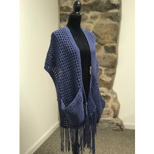 Ella Rae Pocketed Wrap Kit Aran