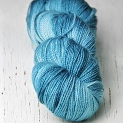 Meadowcroft Dyeworks Cross Creek Sock Blues/Greens