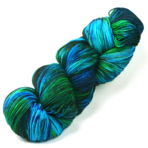 Meadowcroft Dyeworks Cross Creek Sock Blues/Greens