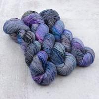 Spun Right Round Classic Sock Purples