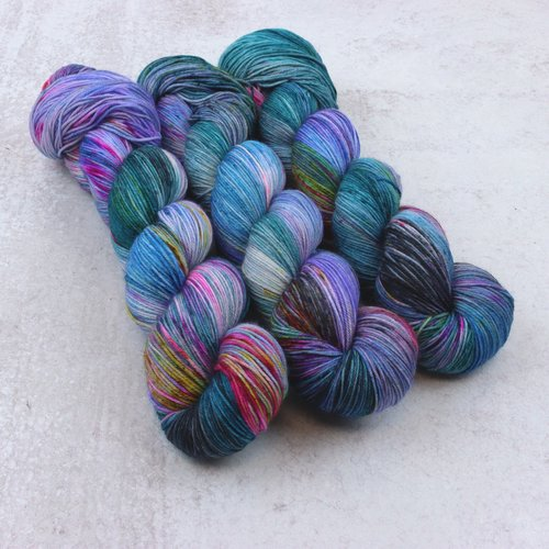 Spun Right Round Spun Right Round Classic Sock Purples