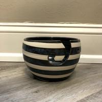 Stripe Yarn Bowl