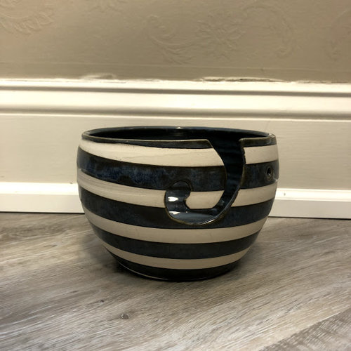 Pawley Studios Stripe Yarn Bowl
