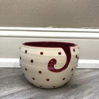 Dot Yarn Bowl