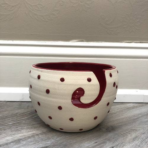 Pawley Studios Dot Yarn Bowl