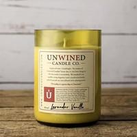 Unwined Candles Wine Bottle Candle