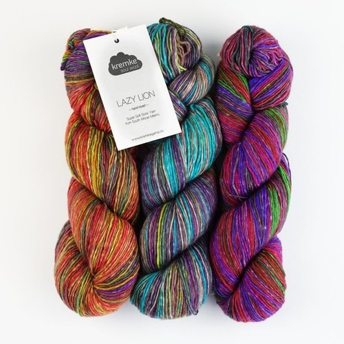 Kremke Soul Wool Lazy Lion Self-Striped Sock