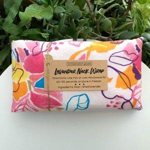 Limited Batch Goods Lavender Neck Wrap