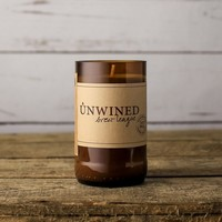 Unwined Brew League Beer Bottle Candle