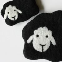 Mama and Baby Sheep Notions Bag