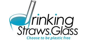 Drinking Straws.Glass