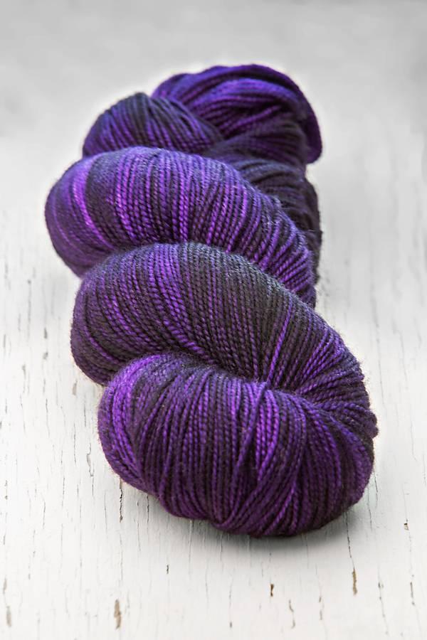 Meadowcroft Dyeworks Rockshelter Sock Purple/Lavender/Pink  -