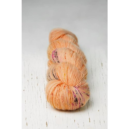 Hedgehog Fibres Hedgehog Twist Sock Orange/Pinks -