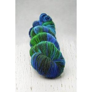 Hedgehog Fibres Hedgehog Twist Sock Blue Multi -