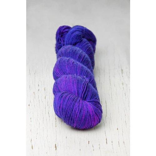 Hedgehog Fibres Hedgehog Sock Blues/Purples -