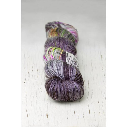 Hedgehog Fibres Hedgehog Sock Blues/Purples -