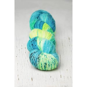 Hedgehog Fibres Hedgehog Sock Blue Multi -