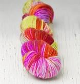 Hedgehog Hedgehog Sock Red/Orange/Pinks -