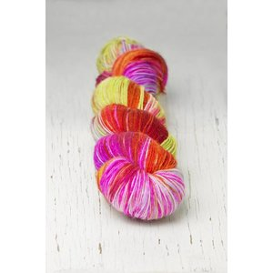 Hedgehog Fibres Hedgehog Sock Reds/Pinks -