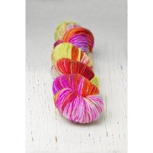 Hedgehog Fibres Hedgehog Sock Reds/Pinks -