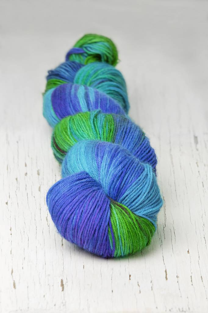 Hedgehog Hedgehog Sock Blue Multi -